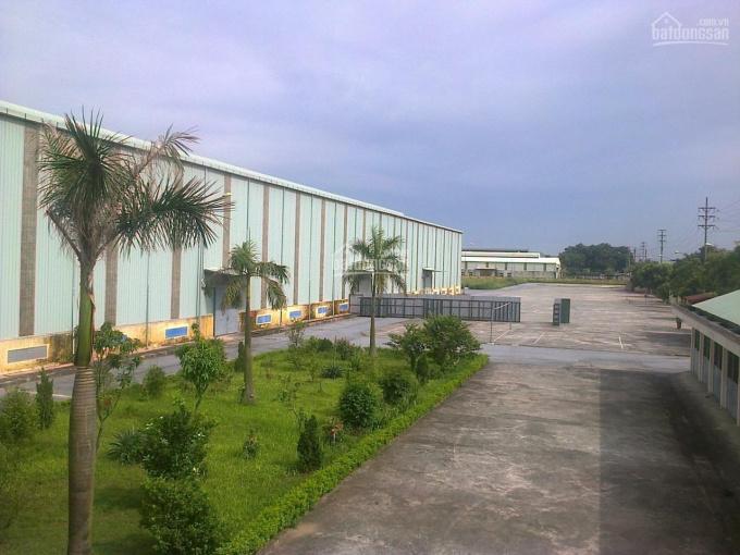 Bán nhà máy công nghiệp DT 9200m2 có xưởng 5600m2 có cẩu trục Tại KCN Đại An, Hải Dương. 0903425299