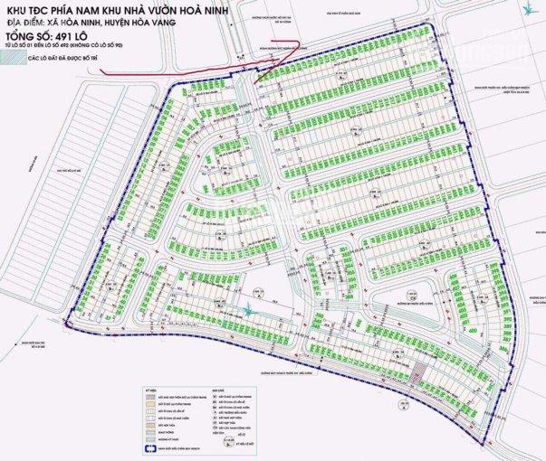 Chính chủ bán lô đất hoa hậu đường 602 khu TĐC chân núi Bà Nà Hill, diện tích 100m2, đường 13.5m
