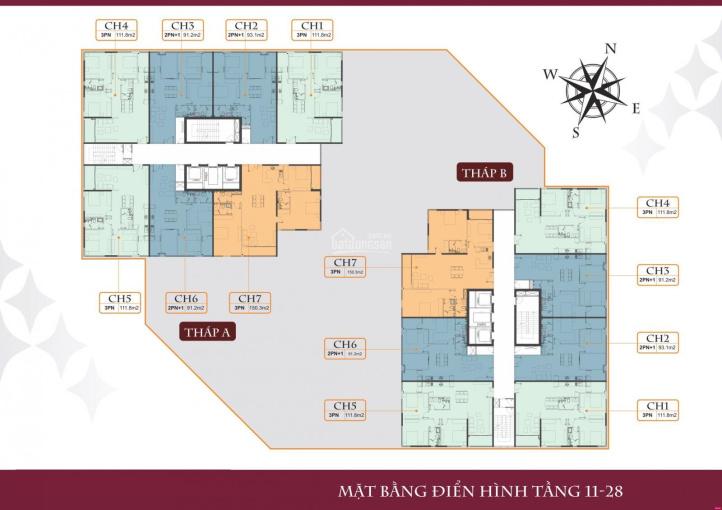 Bán căn hộ 3 phòng ngủ chung cư 35 Lê Văn Thiêm, giá rẻ nhất thị trường ảnh 0