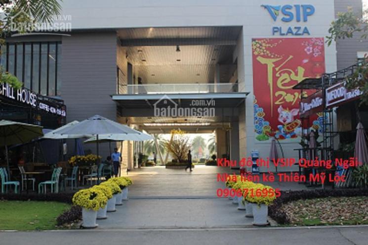 Bán nhà 3 tầng khu đô thị VSIP Quảng Ngãi - Thiên Mỹ Lộc giá rẻ nhất 0906716955
