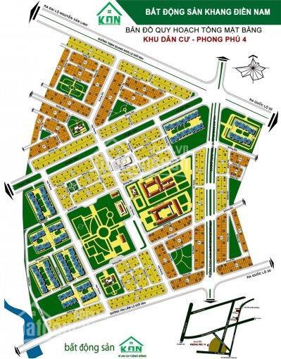 Bán gấp lô đất KDC Phong Phú 4 (Khang Điền) 5x20m sổ đỏ giá 32.7 triệu/m2