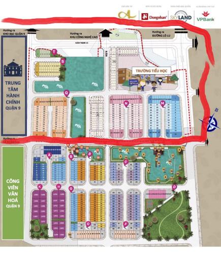 Chủ bán 2 căn nhà phố SimCity 6x14m, 5x16m dãy M N, Q giá 4.4 tỷ/căn, LH: 0913656738