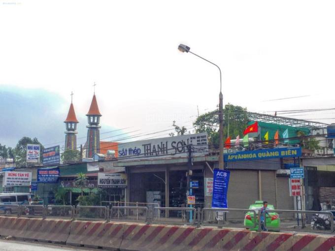 Bán nhà 2 mặt tiền Quốc Lộ 1A, Trảng Bom, Đồng Nai (gần nhà thờ Quảng Biên)