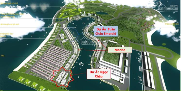 0814402668. Shophouse Tuần Châu Emerald và Ngọc Châu An Phát Vinh mặt cảng chỉ 8.6 tỷ