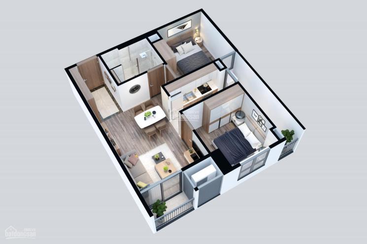 Cho thuê căn hộ dự án Hateco Xuân Phương full nội thất giá chỉ từ 5,5 đến 7tr/th căn 2 - 3PN