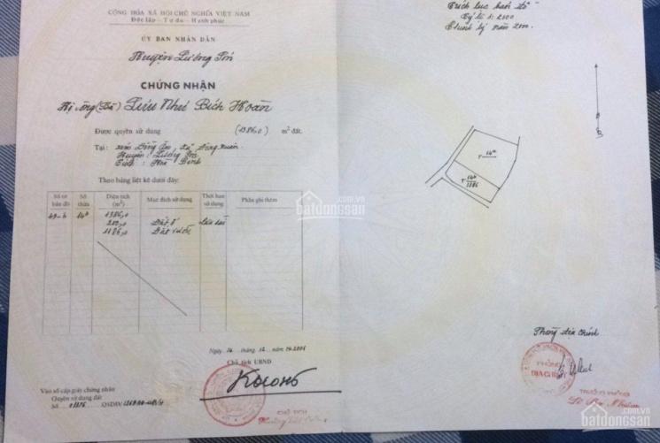 CC cần bán lô đất tại Đông Xuân, Quốc Oai, Hà Nội