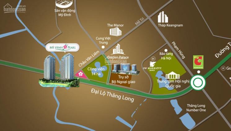 BQL update những căn shop chân đế vị trí đẹp cần cho thuê tại dự án Mỹ Đình Pearl
