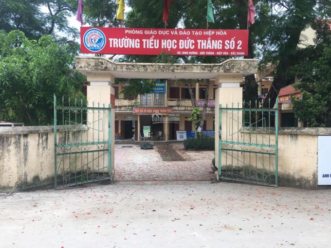 Bán đất khu Dinh Hương, Đức Thắng, Hiệp Hòa gần trung tâm Thị trấn Thắng 138m2, chỉ 450 triệu