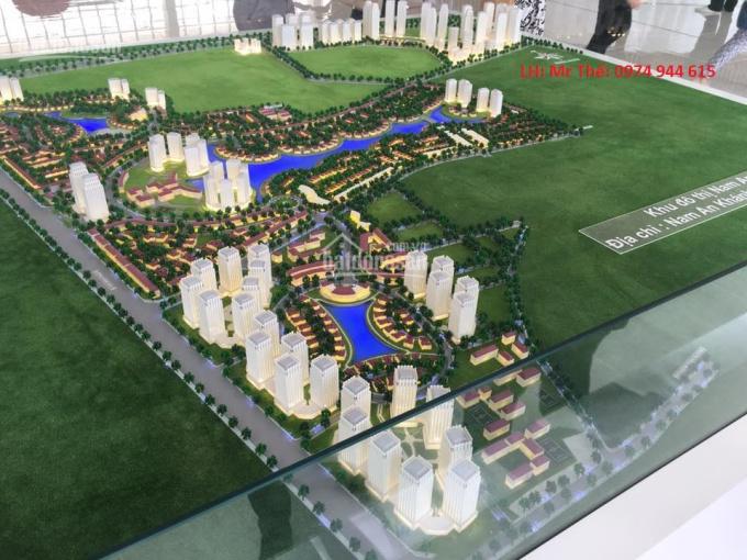 Tôi cần bán biệt thự TT26 khu đô thị Nam An Khánh, đã xây thô 3,5 tầng hướng Tây Bắc, giá 18tr/m2