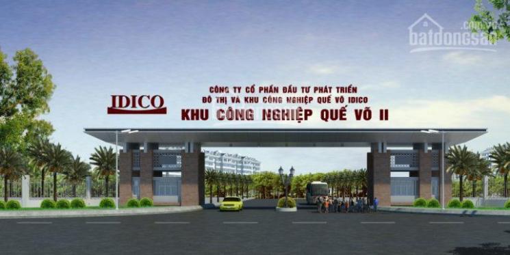Bán đất công nghiệp Bắc Ninh, KCN Quế Võ, quy mô từ 1ha đến 20ha,0898588741.