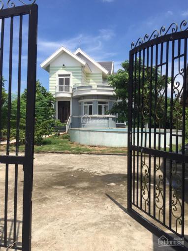 Bán đất tặng villa to chà bá lửa 2000m2, mặt tiền Bà Tỵ, Tân Nhựt, Bình Chánh