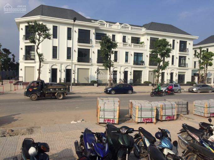 Cho thuê shophouse 3 tầng nổi 1 tầng hầm mặt đường Lương Thế Vinh đã hoàn thiện 75 triệu/th