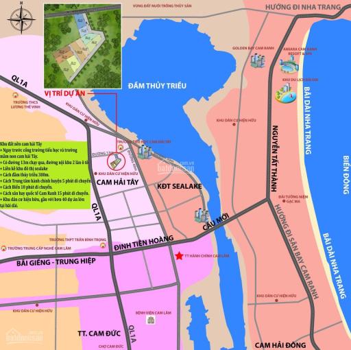 Đất nền Bãi Dài Cam Ranh 100% thổ cư, giá chỉ 3.7 tr/m2, gọi ngay 0763788666