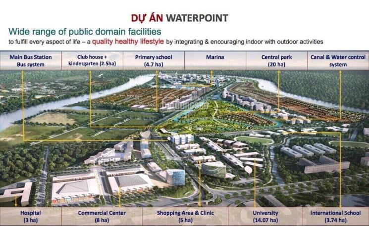 Cơ hội đầu tư shophouse, villas, nhà phố dự án khu đô thị Waterpoint, giá từ 2,3 tỷ - 0903002996