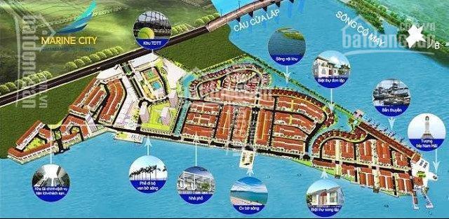 Bán đất nền dự án Marine City. LH: 0938054064 ảnh 0