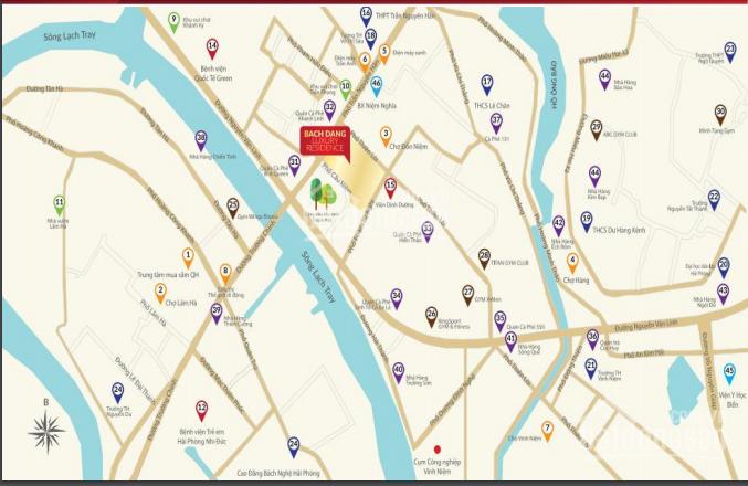 Bán nhà shophouse Bạch Đằng Luxury Residence, chiết khấu 10%, giá gốc, LH: 0989 704 850