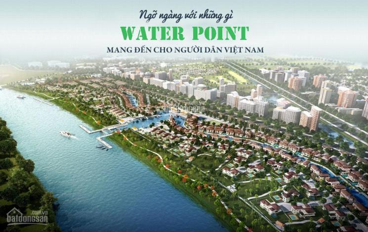 Bán nhà phố dự án Waterpoint mặt tiền Vành Đai 4, Bến Lức - Long An. LH: 0902 476 032
