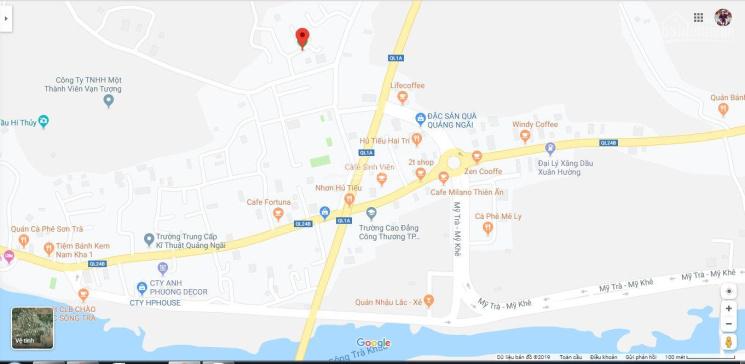 Cần bán đất P. Trương Quang Trọng, cầu chui Quốc Lộ 24B với Quốc Lộ 1A, 5x19m thổ cư 95m2, 900tr ảnh 0