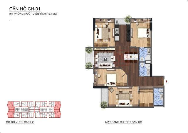 Bán gấp 2 căn 1501(95m2) & 1802(133m2) tòa Lạc Hồng Lotus view công viên, 28tr/m2, LH: 0983142218