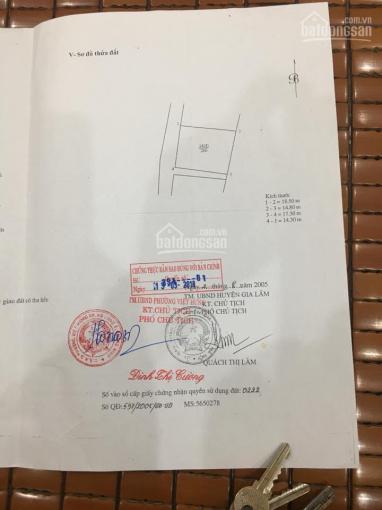 Vị trí kinh doanh đẹp nhất Cửu Việt, TT Trâu Quỳ, DT: 90m2, MT: 5,2m, cực rẻ chỉ: 42tr/m2