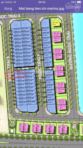 Bán lại liền kề Ngọc Trai 6. Dự án Vinhomes Marina Cầu Rào 2 (rẻ nhất thị trường)