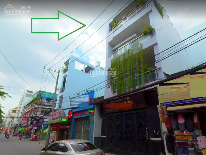 Nhà có vỉa hè rộng rãi, mặt tiền thoáng đãng Q. Tân Bình - sầm uất đường Phạm Phú Thứ