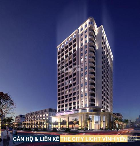 Nhận đặt giữ chỗ chung cư The City Light Vĩnh Yên - Liên hệ: 0979.945.249