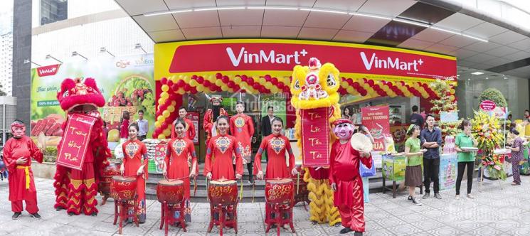 Hệ thống siêu thị Vinmart - cần thuê gấp 107 mặt bằng kinh doanh tại Hà Nội