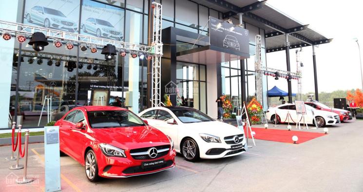 Mercedes - Benz An Du cần thuê gấp showroom bán hàng tại Hà Nội, mặt phố lớn, mt rộng 9m trở lên
