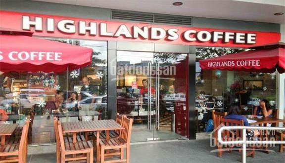 Chuỗi hệ thống cafe Highlands cần thuê 20 điểm tại phố chính Hà Nội