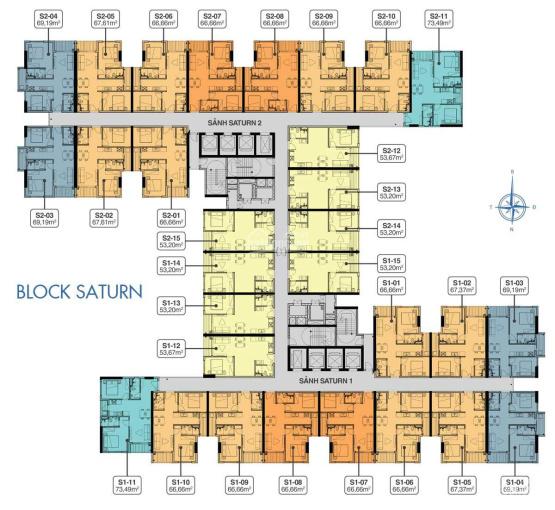 Chính chủ bán Q7 Saigon Riverside, S2.06 chênh lệch 150, U2.05 chênh lệch 180tr, LH 0949 833338