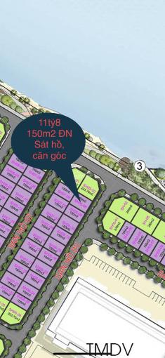 Tôi cần bán căn song lập San Hô 05 - 06 Đông Nam. 150m2 view TTTM sát hồ căn góc, LH 0916256886