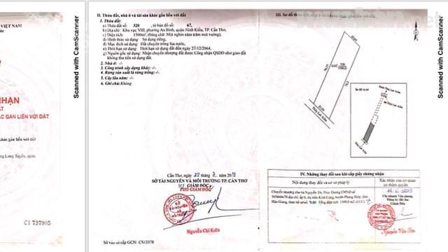 Bán đất P. An Bình, Quận Ninh Kiều, Cần Thơ, DT 1.500m2, giá 2,5 tỷ thu về. LH 0937819299 Hương ảnh 0