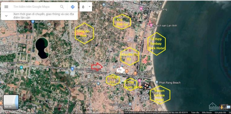 Cặp góc mặt tiền Nguyễn Trích Đông Bắc nằm chính khu Mỹ Bình biển  Bình Sơn TP Phan Rang Tháp Chàm ảnh 0