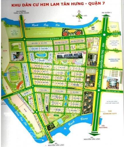 Bán biệt thự Him Lam quận 7, giá rẻ tỷ full nội thất, sổ hồng chính chủ ở ngay, LH 0977771919 ảnh 0