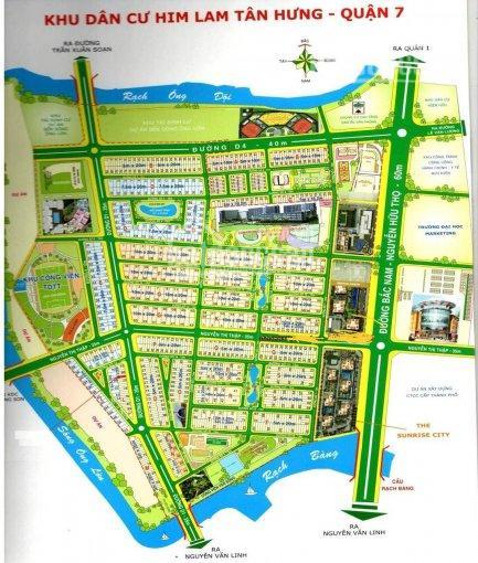 Bán nhà biệt thự khu dân cư Him Lam Kênh Tẻ, phường Tân Hưng 150m2, giá: 26 tỷ, call 0977771919 ảnh 0