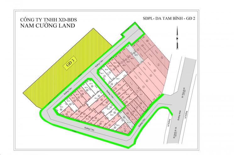 Bán đất đường Gò Dưa, sổ hồng riêng, khu dân cư hiện hữu, xây nhà hoàn công ngay, giá 2.75 tỷ