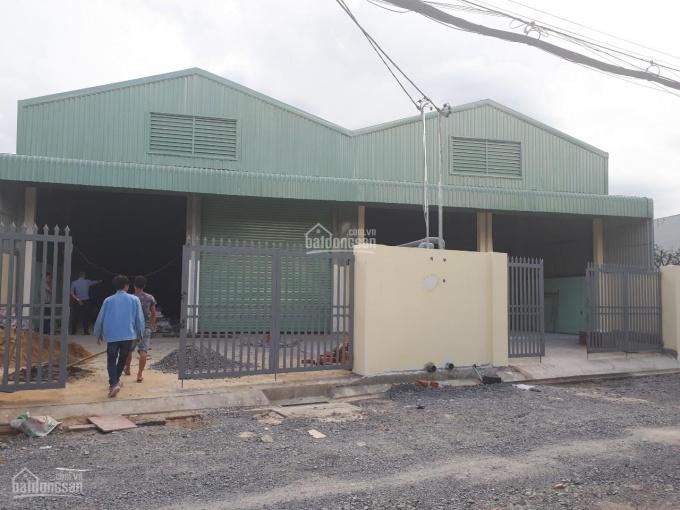 Cho thuê xưởng diện tích 660m2, giá 26tr/tháng ở đường Nguyễn Thị Đặng, P. Tân Thới Hiệp, Q12
