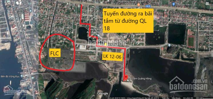 Bán liền kề trục đường đôi 30m có 3 mặt thoáng (có sổ) gần ngay bãi tắm Quảng Hồng, FLC Vũng Đục