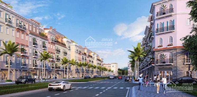 Căn góc liền kề 5 tầng 108m2 XD 389m2 mặt đường 20m kinh doanh khách sạn, nhà hàng KDT Sun Phú Quốc