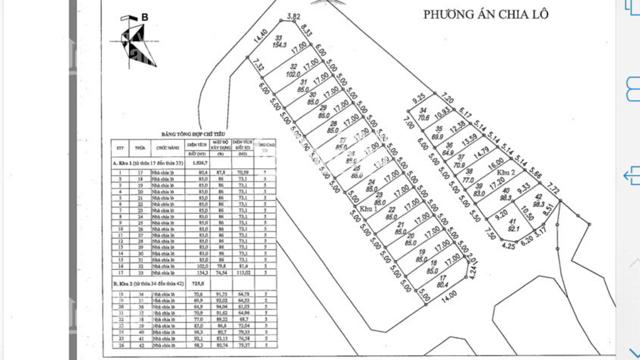 Bán đất đấu giá Xóm Lò, phường Thượng Thanh, Long Biên, Hà Nội