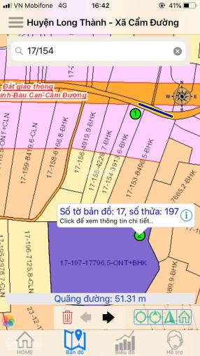 Bán đất đường song song Hương Lộ 10, cách sân bay 10km, 2.1 hecta, 1.2 tr/m2, 0901414778