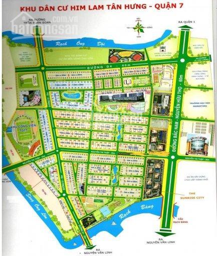 Cho thuê nhà KDC Him Lam, P. Tân Hưng, Quận 7. Biệt thự 150m2, 3 lầu, giá 65tr/tháng 0977771919 ảnh 0