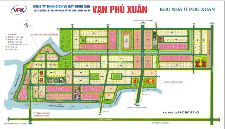 Cần bán nền NP Vạn Phát Hưng Phú Xuân, 132m2, giá rẻ nhất thị trường 27 tr/m2 lô đẹp. LH 0984975697