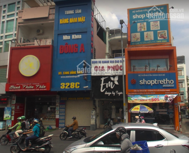 Cho thuê nhà mặt tiền Đ.Phạm Phú Thứ, P11-TB