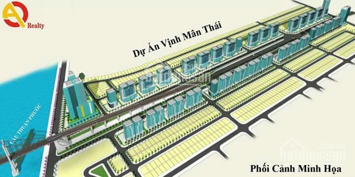 Bán lô đất mặt tiền đường Nguyễn Đình Hoànkhu Mega - Habour Ville Thuận PhướcQuận Sơn Trà