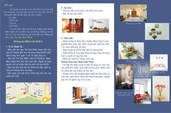 CHO THUÊ PHÒNG STUDIO THOÁNG MÁT TẠI 159/9 BẠCH ĐẰNG, P2 QUẬN TÂN BÌNH