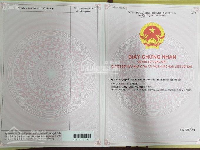 Cần tiền bán gấp đất ngay mặt tiền Trần Đại Nghĩa, Bình Chánh, SHR 900tr/nền XDTD, Hiếu:0902680537