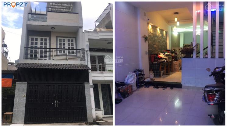 Cho thuê nhà nguyên căn quận Bình Tân, Bình Hưng Hòa, mặt tiền đường nội bộ, nhà mới kiên cố