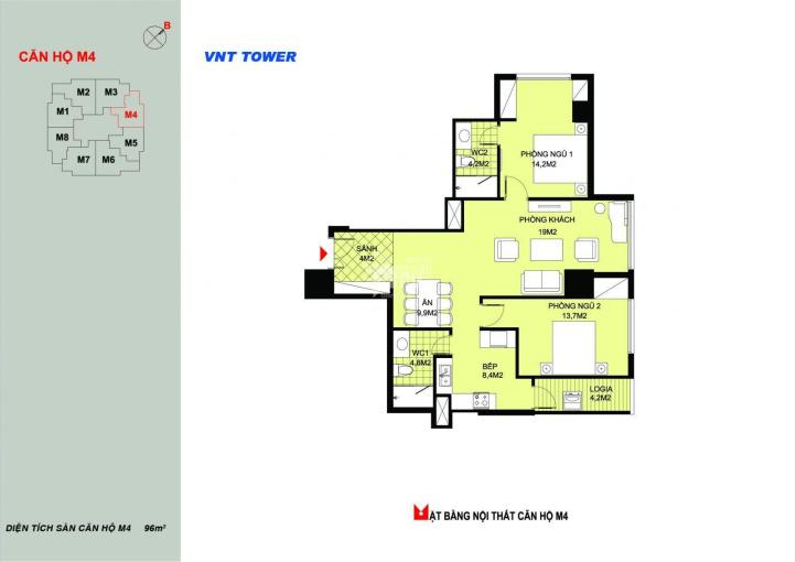 Chính chủ cần bán căn hộ 2404 tòa FaFilm 19 Nguyễn Trãi - 09.8886.5556